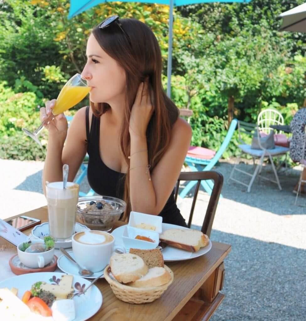 Frühstücken in Hohenems im Frida