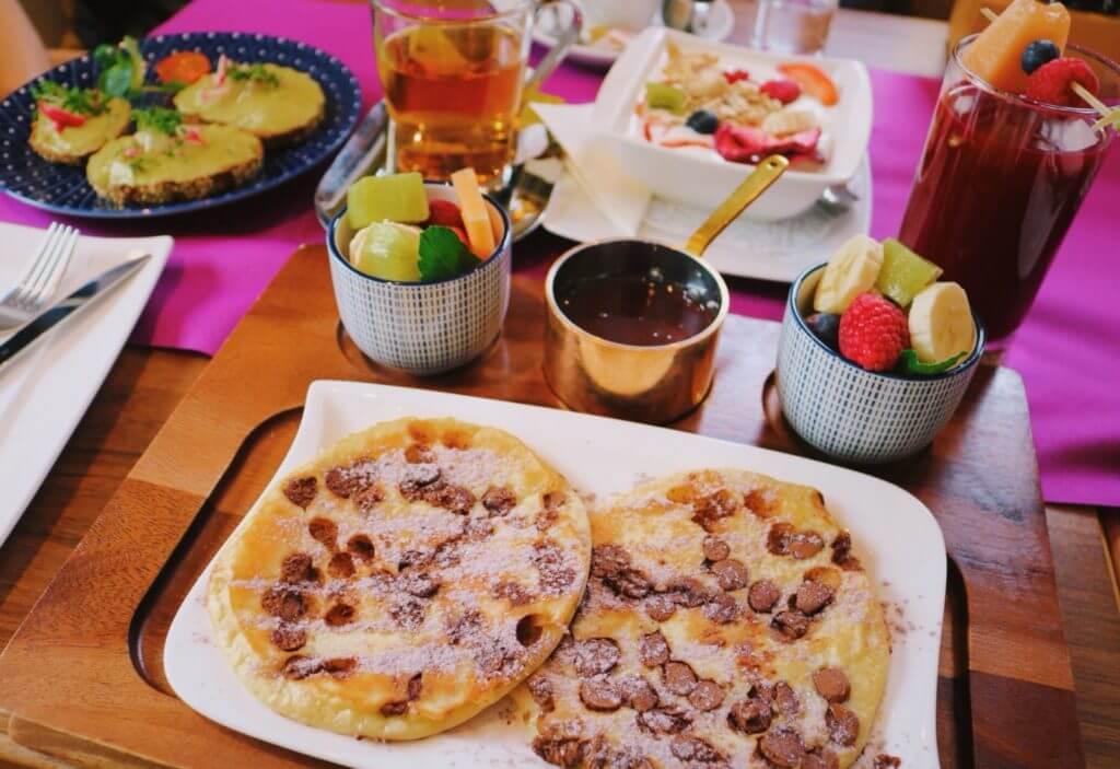 Schlosskafffee in Hohenems frühstücken