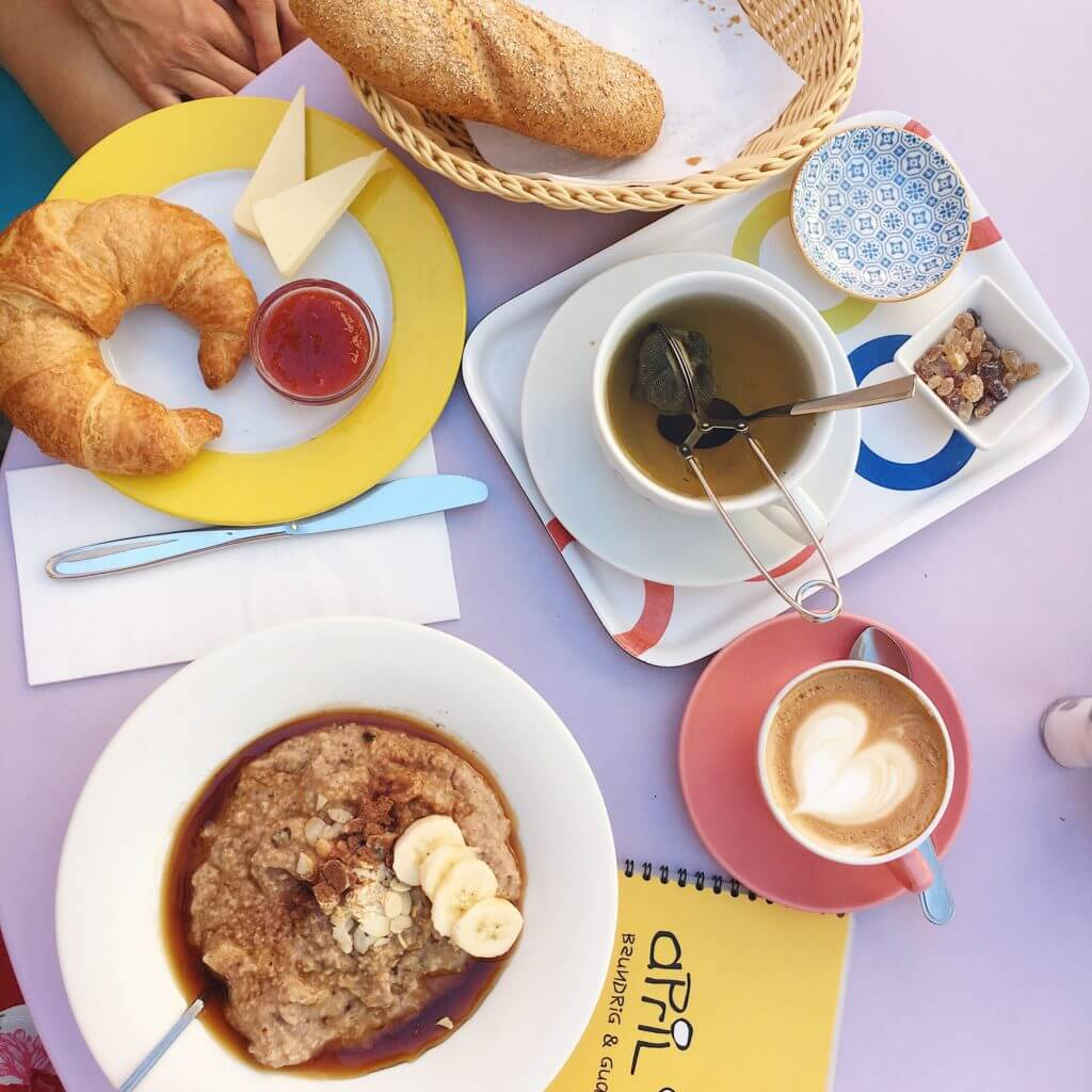 Frühstück im Café April in Feldkirch