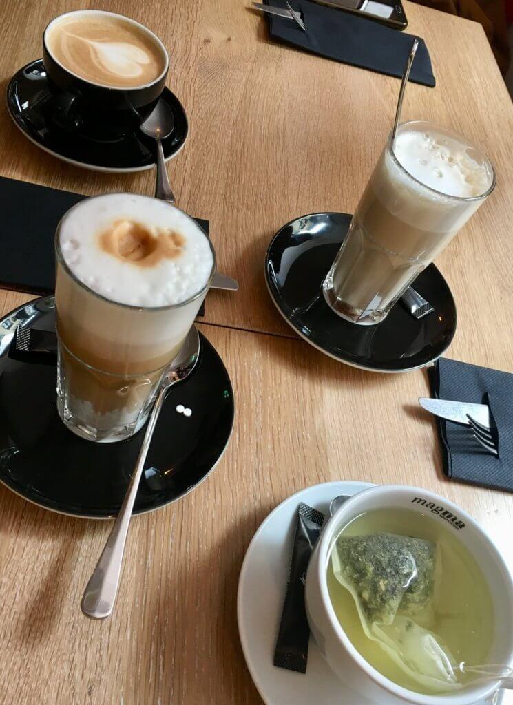 Kaffee im Magma in Feldkirch