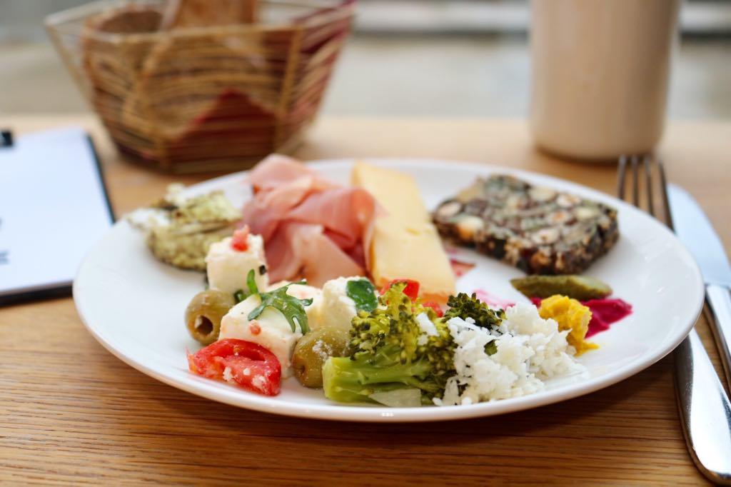 Brunch im Bären in Mellau viele Vegane Gerichte
