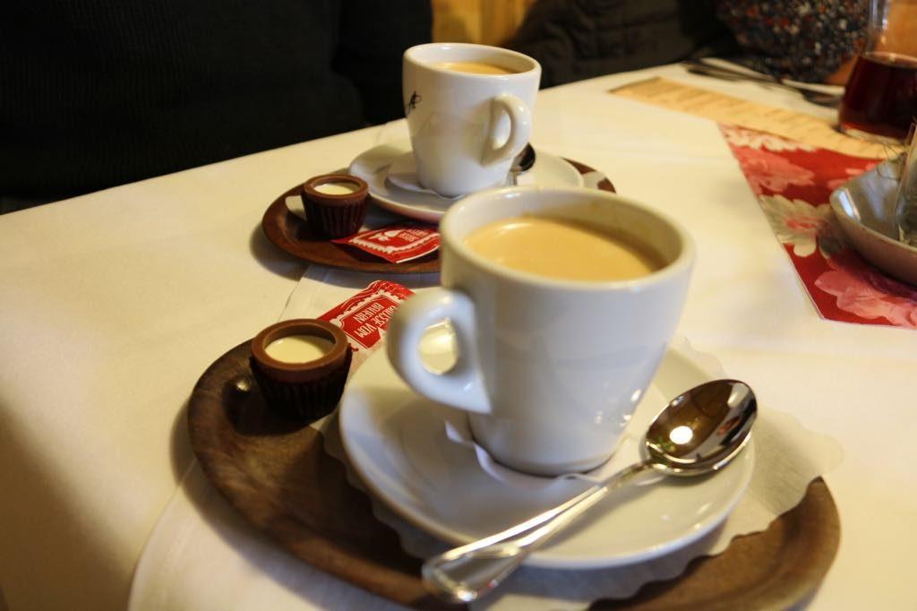 Kaffee im Vorarlberger Hof Rankweil