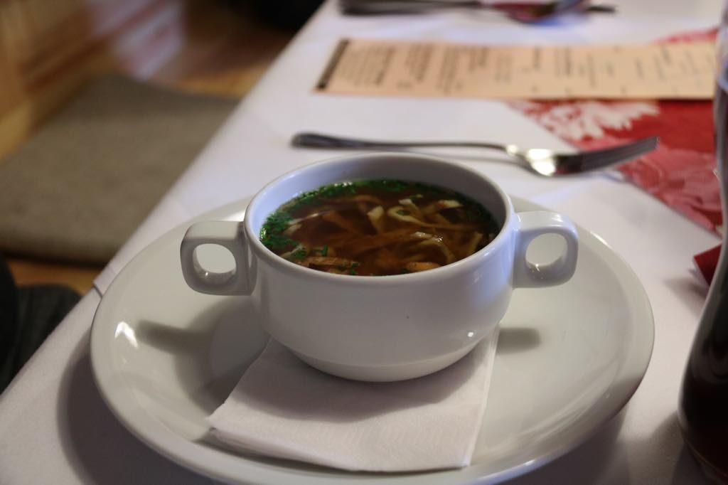 Suppe im Vorarlberger Hof Rankweil