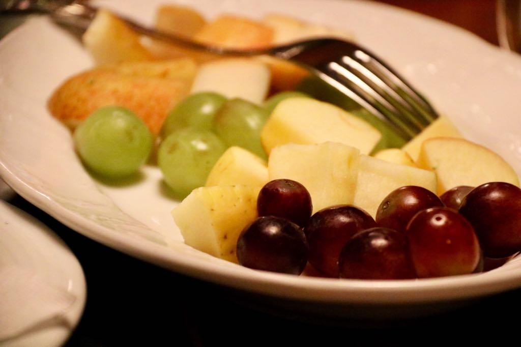 Obst fürs Käsefondue