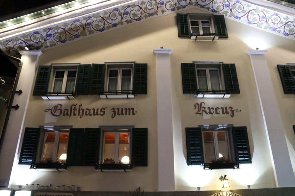 Fassade vom Gasthaus