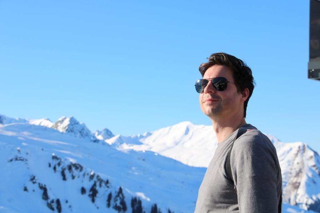 Silvretta Montafon Skifahren Aussicht