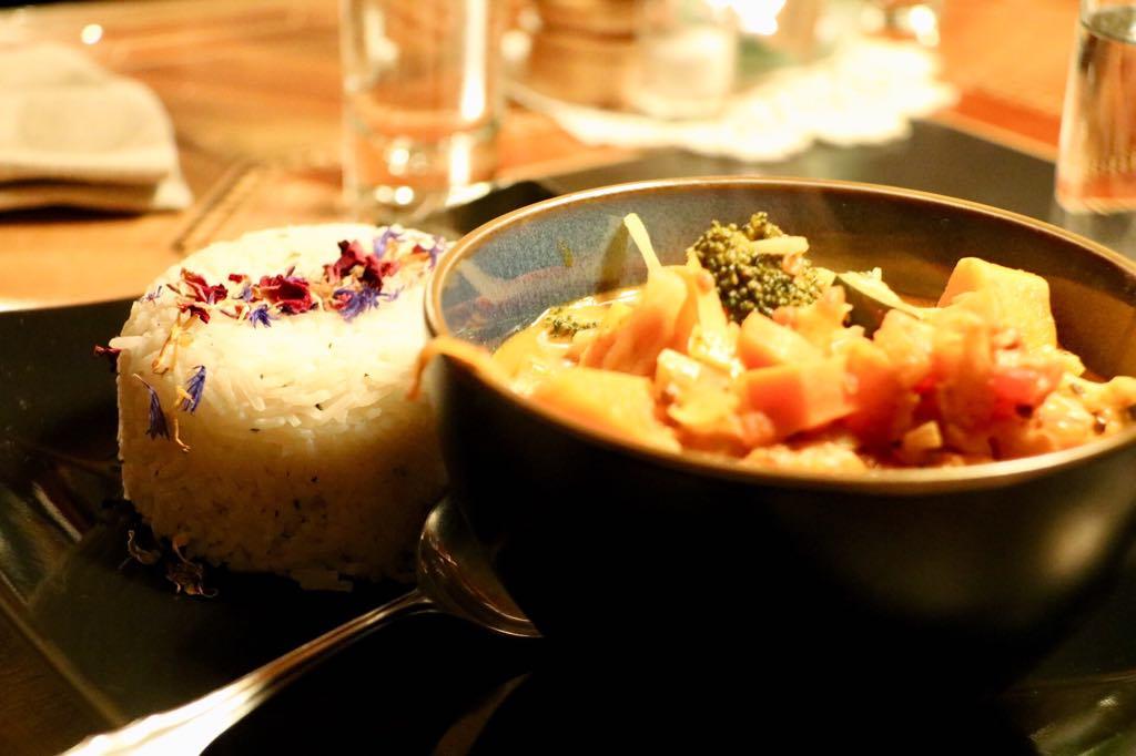 Gemüse Curry Gasthaus Kreuz