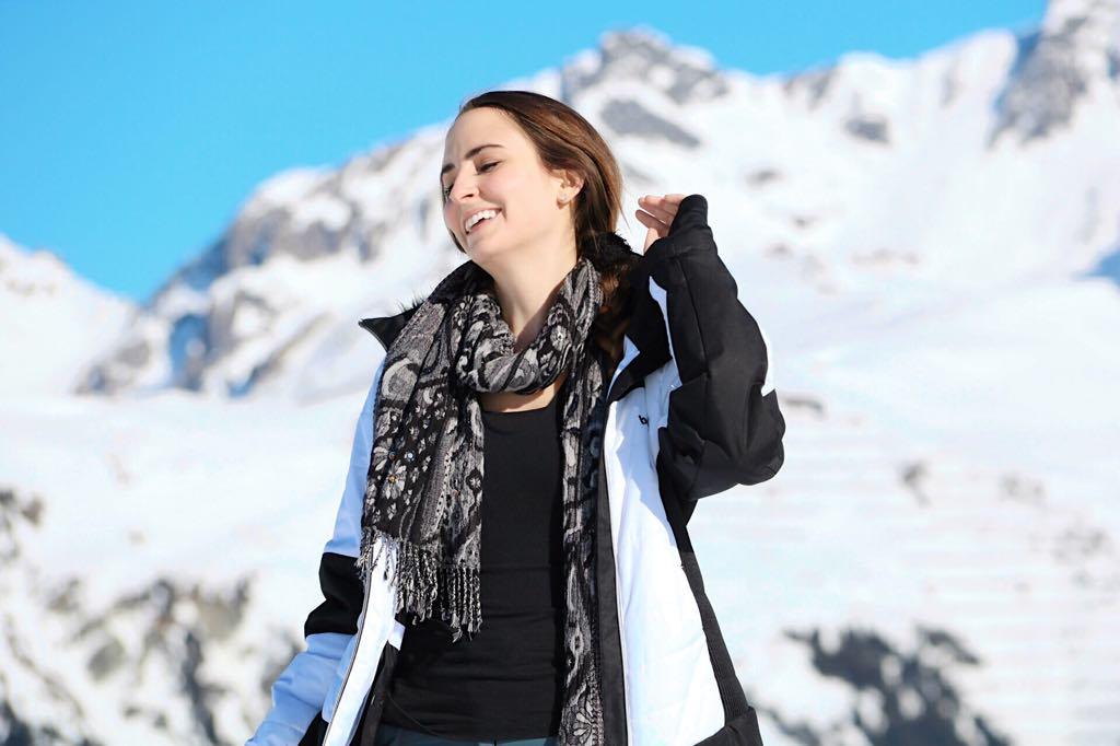 Silvretta Montafon Skifahren Traumtag