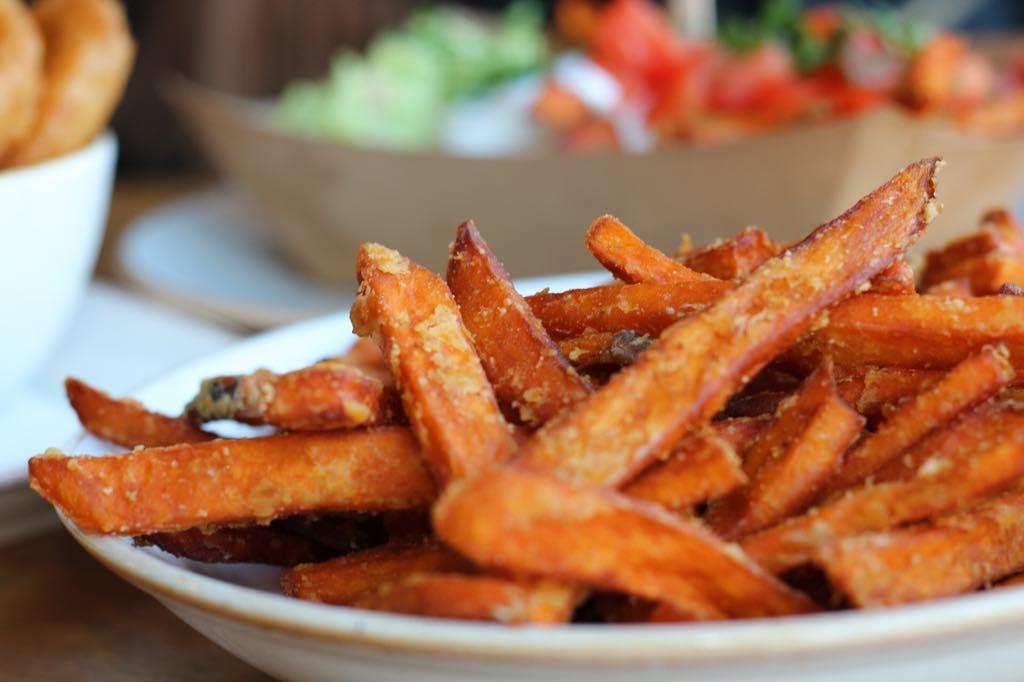 Wippel Burger Süßkartoffelpommes