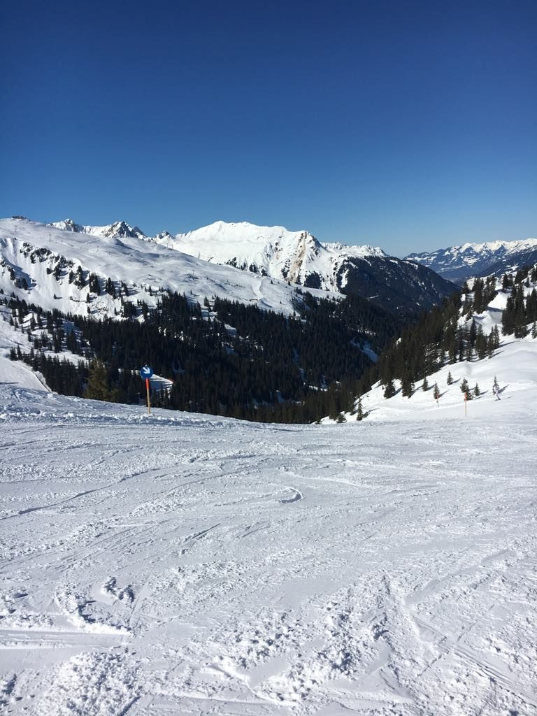 Silvretta Montafon Skifahren Pisten