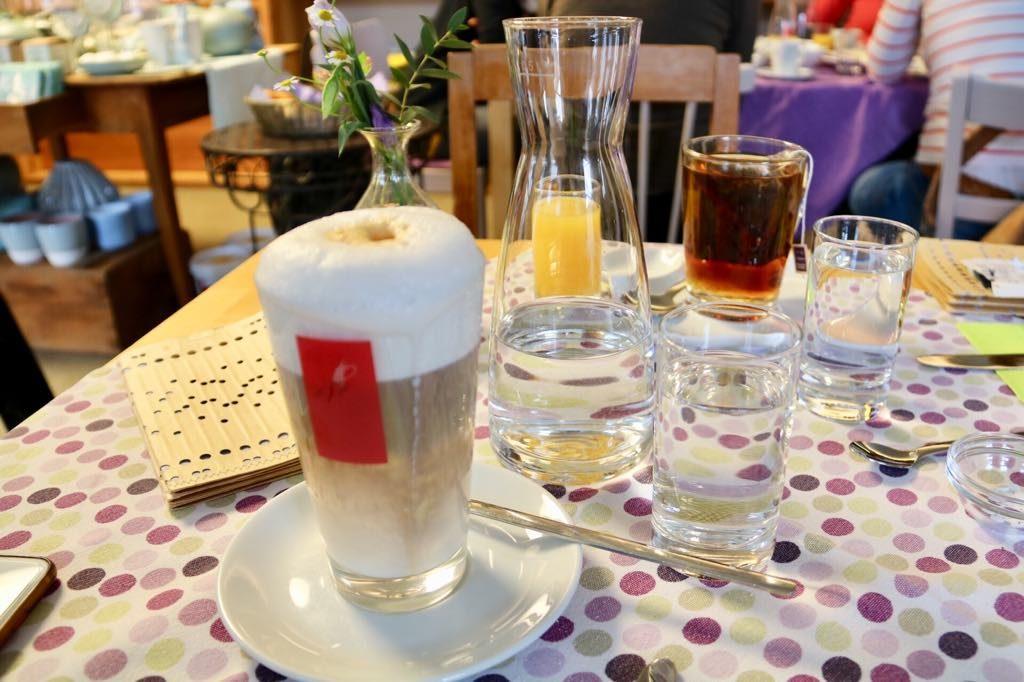 Die Getränke im Café Sines