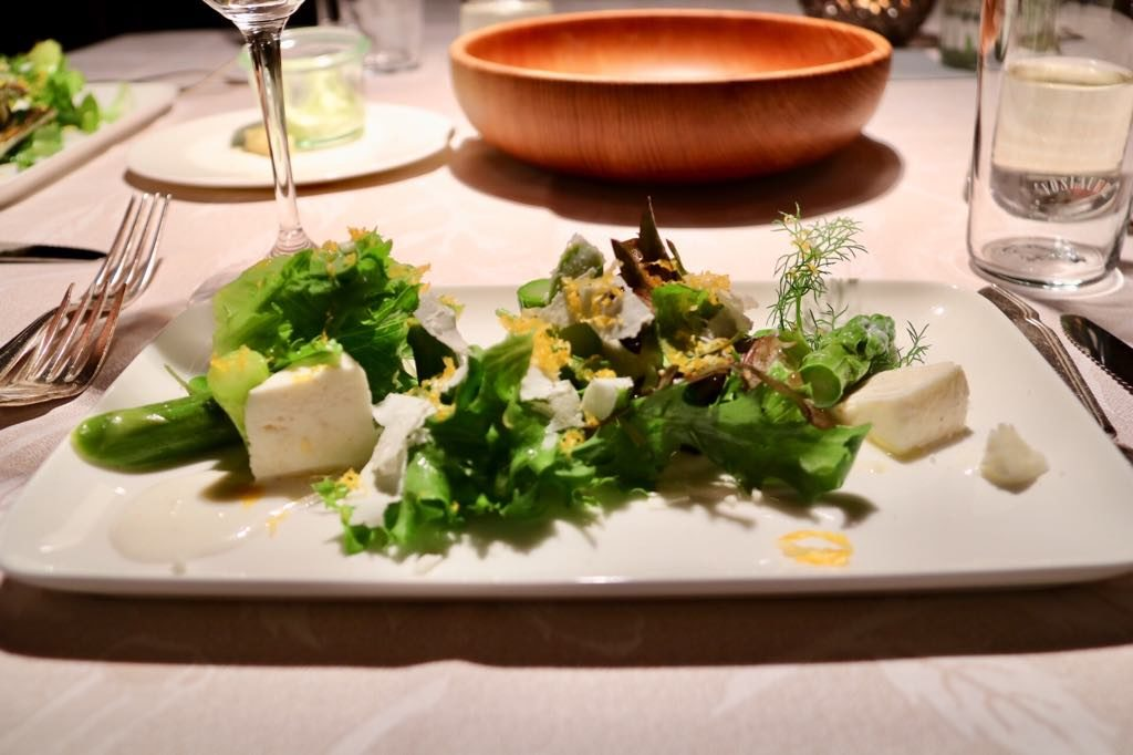 Mangold in Lochau Salat