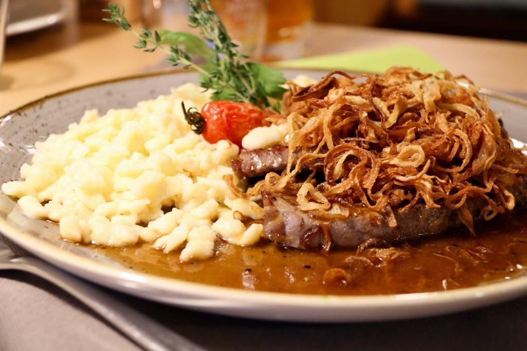 Abendessen im Dreiländerblick in Dornbirn