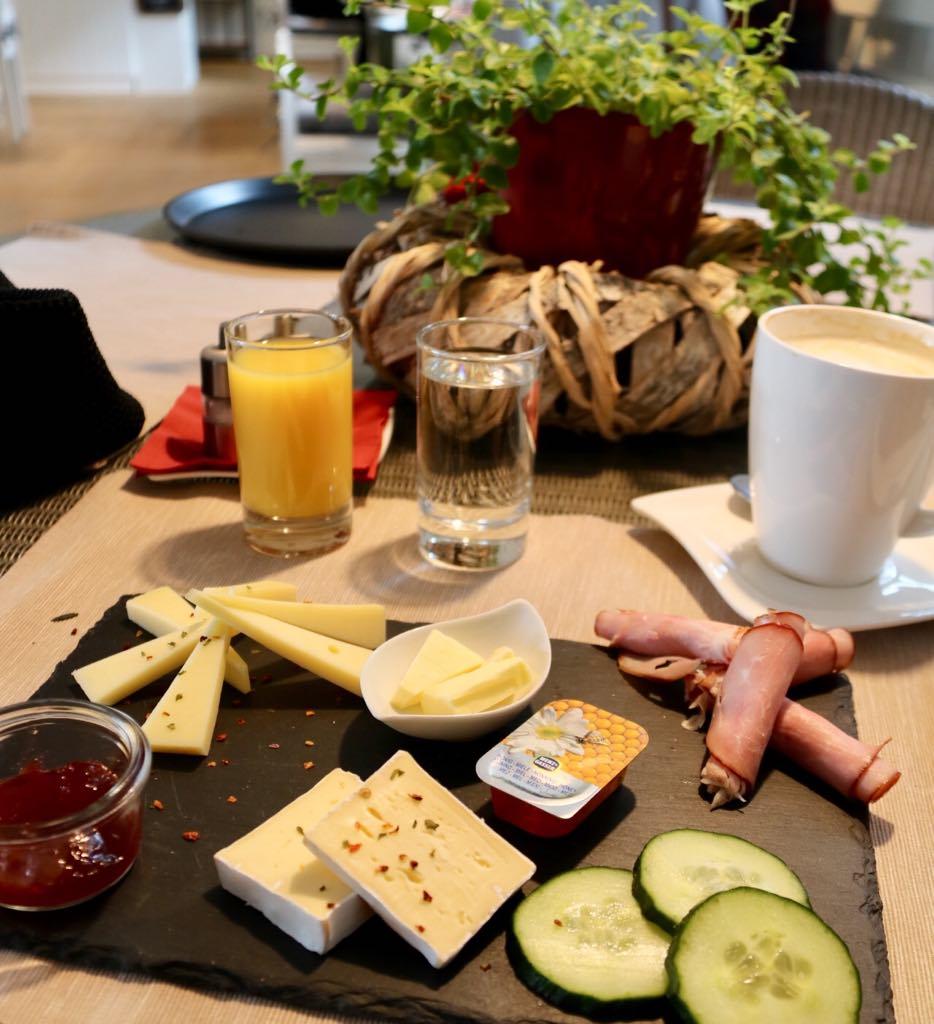 Frühstück in Dornbirn
