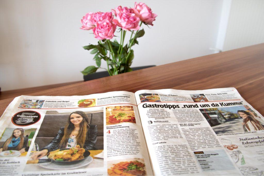 Die Gsibergerin in der Zeitung