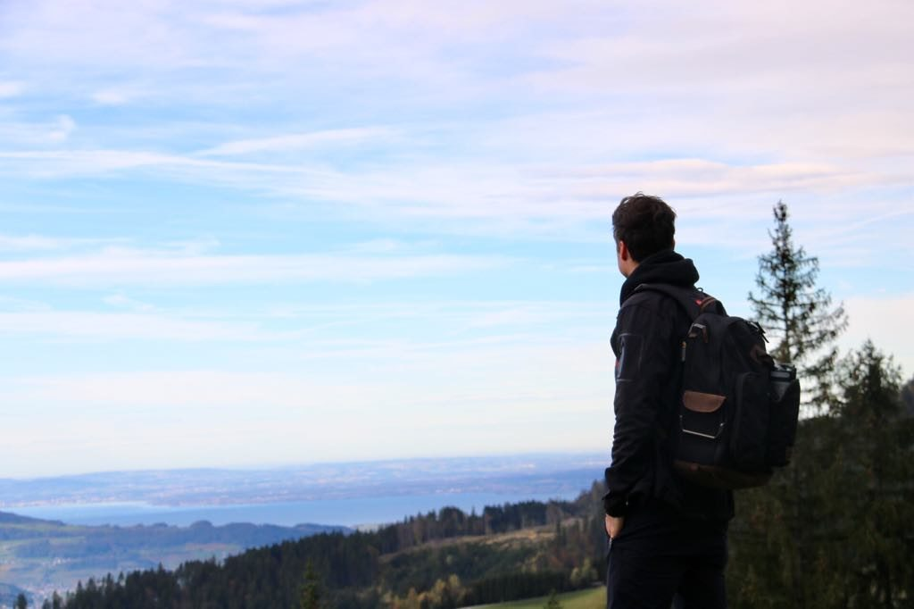 Viktorsberg Wanderung Alpe Almein