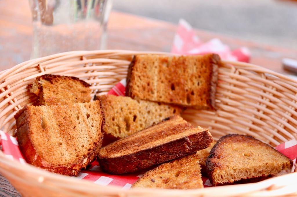 Hohenemser Hütte Brot