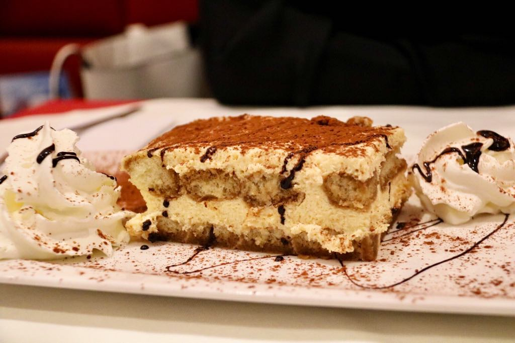 Tiramisu Pizza in Hohenems