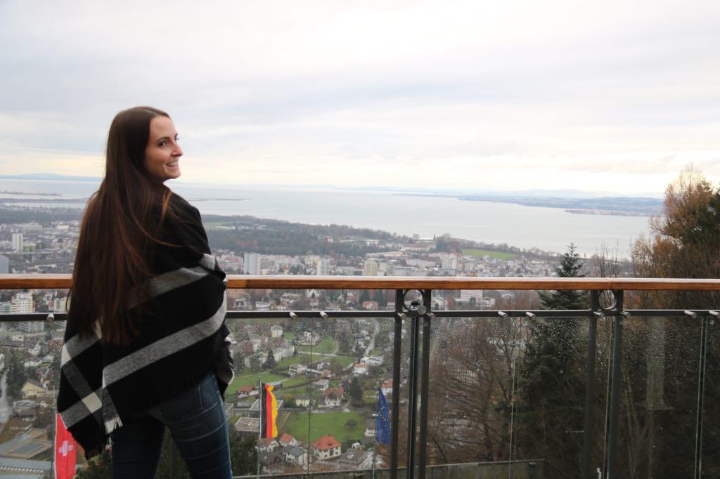 Ausblick Bregenz