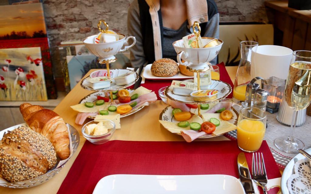 Frühstück in Schruns