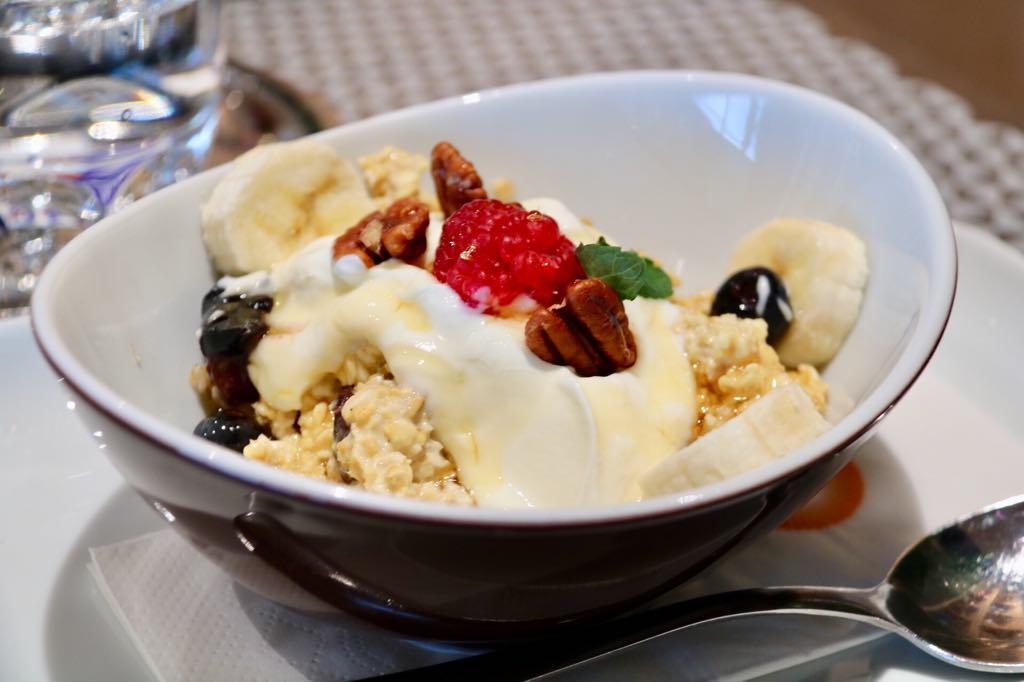 Frühstück im Messepark Müsli