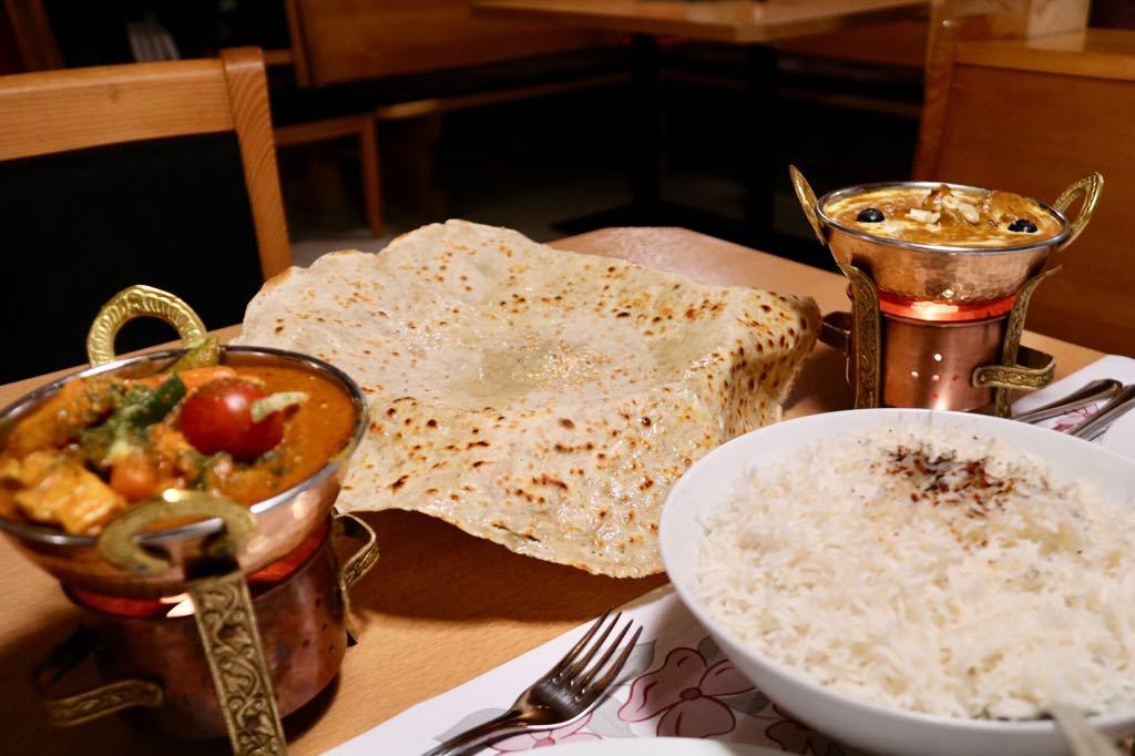leckeres Essen indisch afghanisch