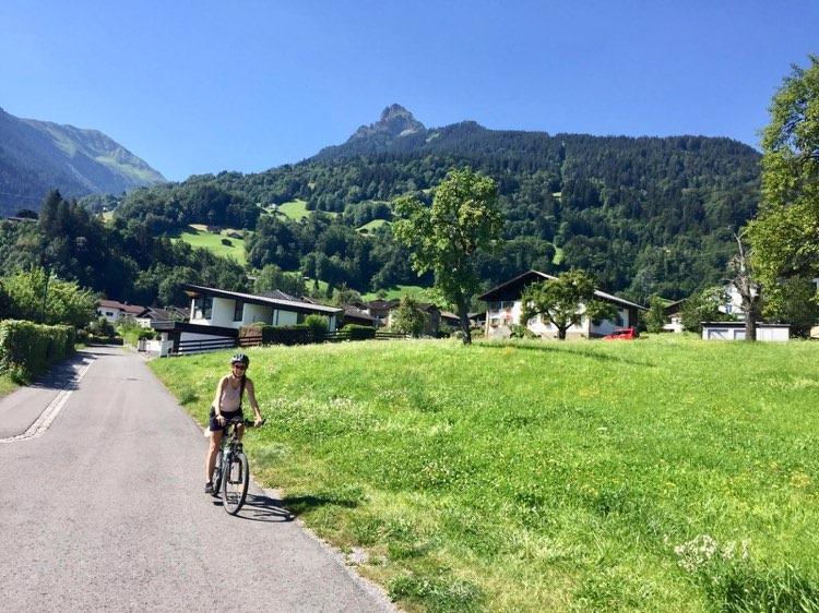 Radtour Montafon Tschagguns
