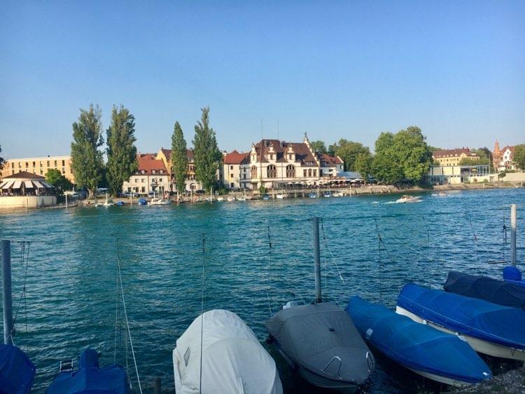 Radtour um den Bodensee