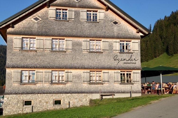 Kässpätzle in Vorarlberg  Egender