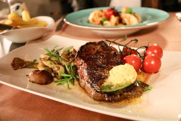 Schlosshotel Dörflinger Bludenz Steak