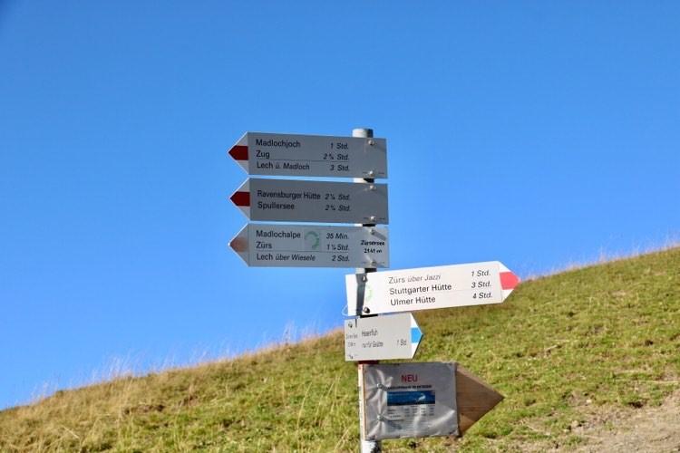 Wanderung zum Zürsersee