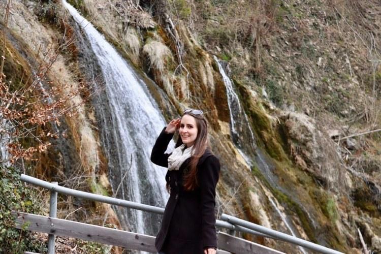 Montjola Wasserfall Weiher