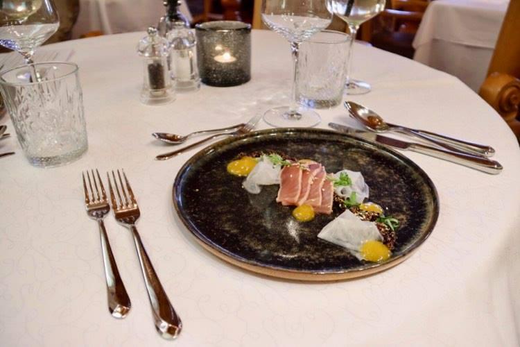 Hotel Damülser Hof Abendessen