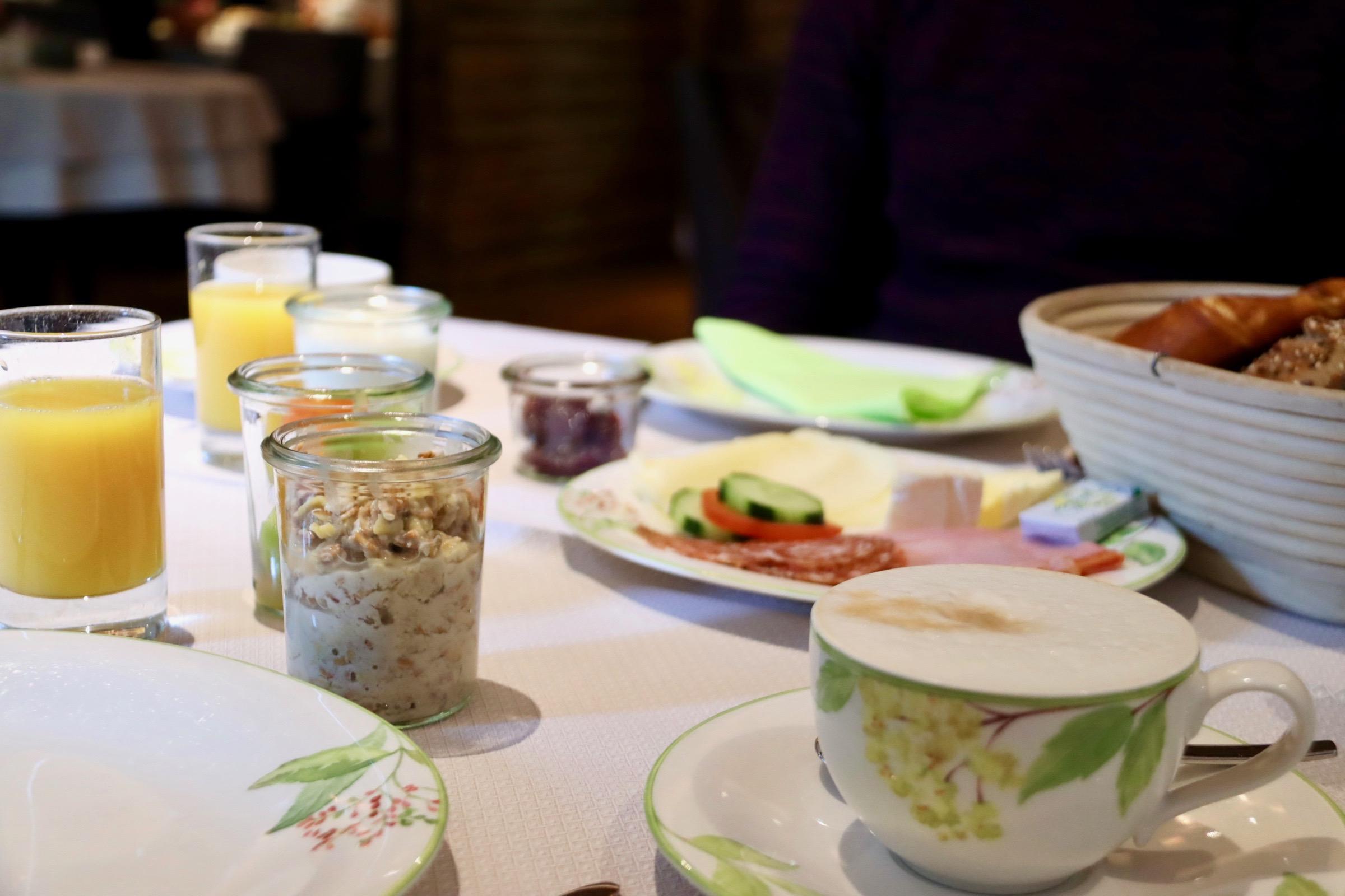 Lech Hotelfrühstück