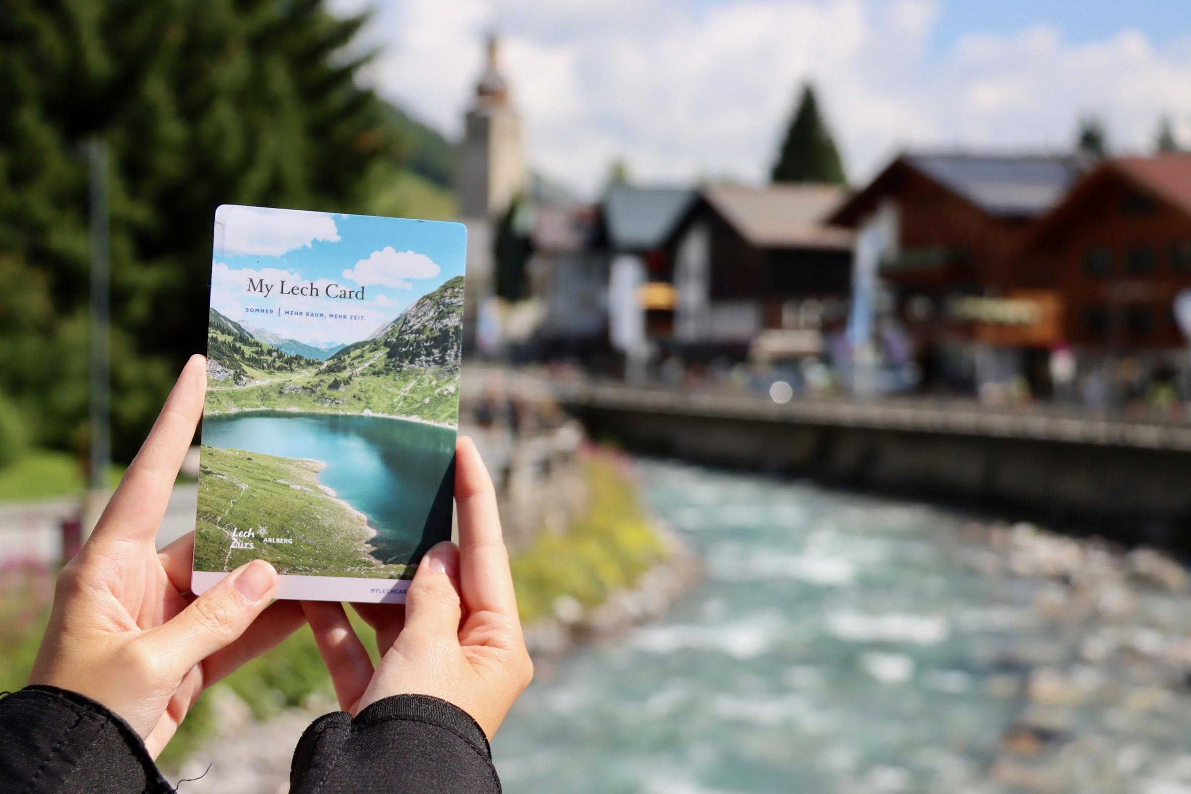Ausflug zum Spullersee Lech Card