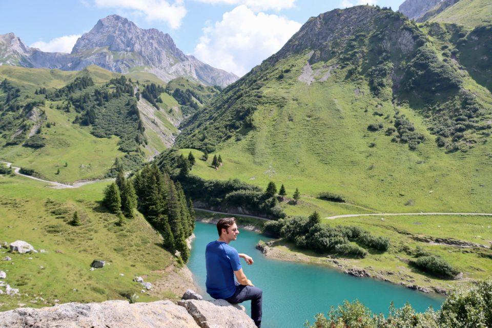 Ausflug zum Spullersee Lech Zürs