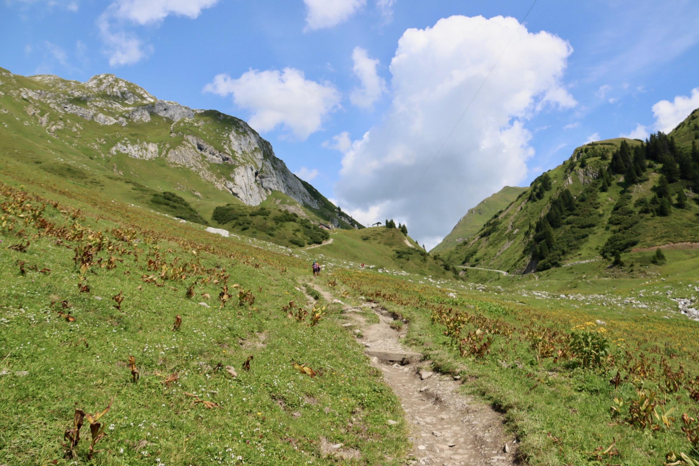 Ausflug zum Spullersee Ravensburger Hütte