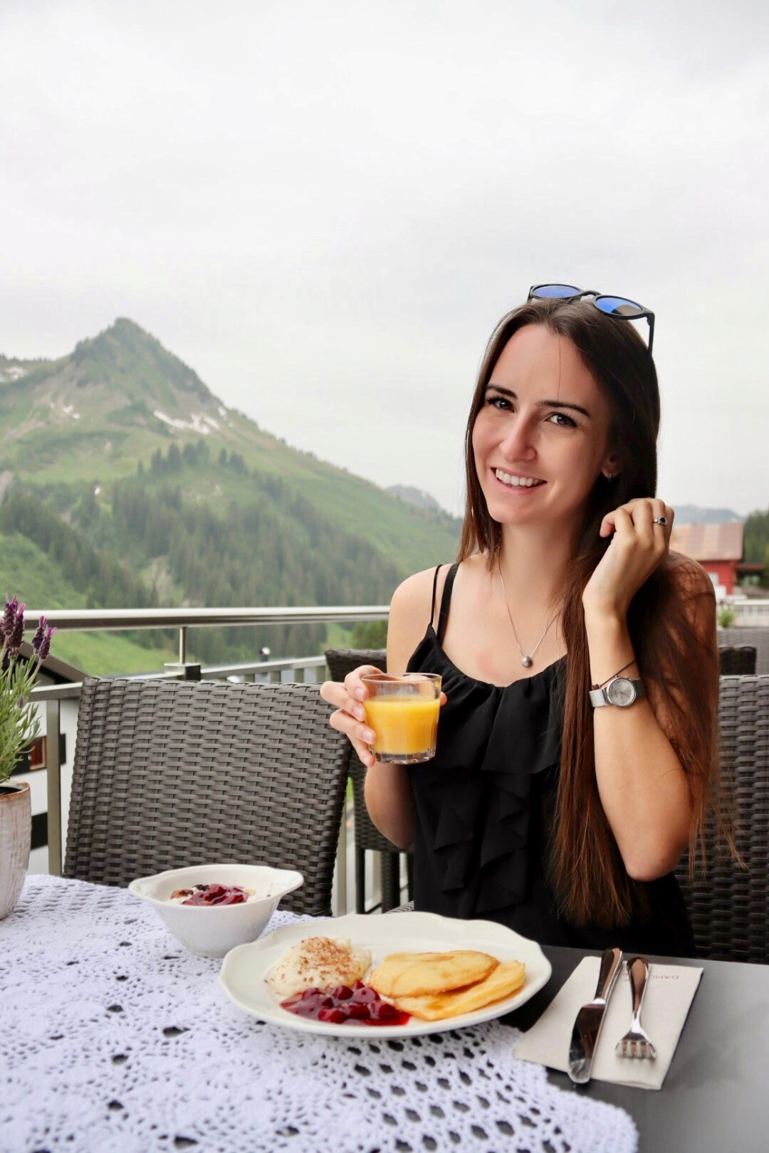 Bergfrühstück in Vorarlberg